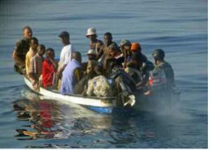 Un kwassa intercepté par les Douanes