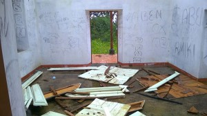 La Maison du Gouverneur totalement saccagée