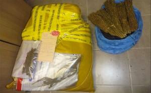 Interception Kwassa, 10 kg de bangué saisi