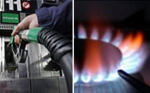 Augmentation du carburant et du gaz en mars