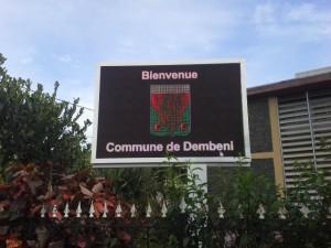 17h02 : Bonne affluence à la Mairie de Dembéni
