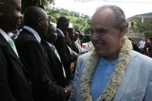 Mitterrand insulte les élus mahorais