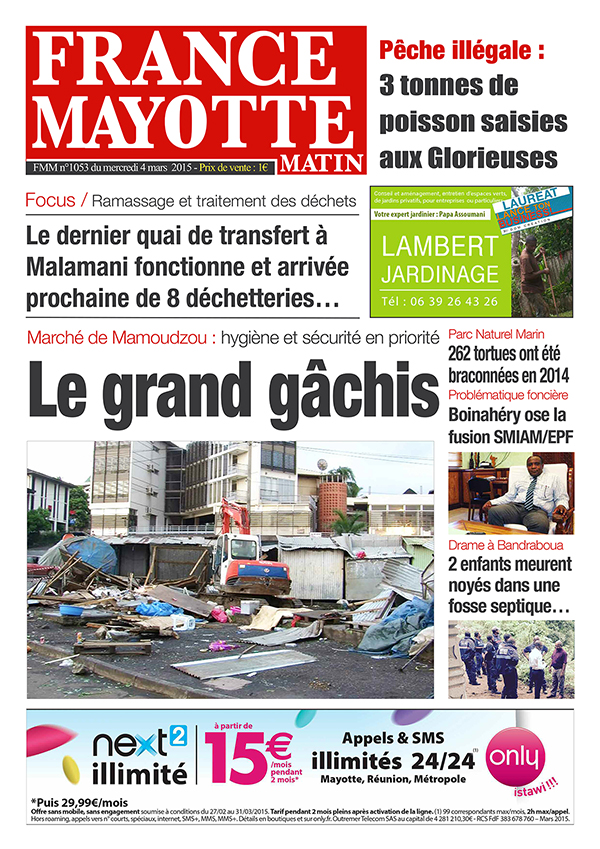 France Mayotte Mercredi 4 mars 2015