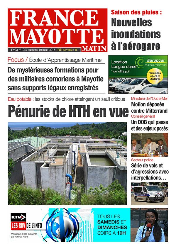 France Mayotte Mardi 10 mars 2015
