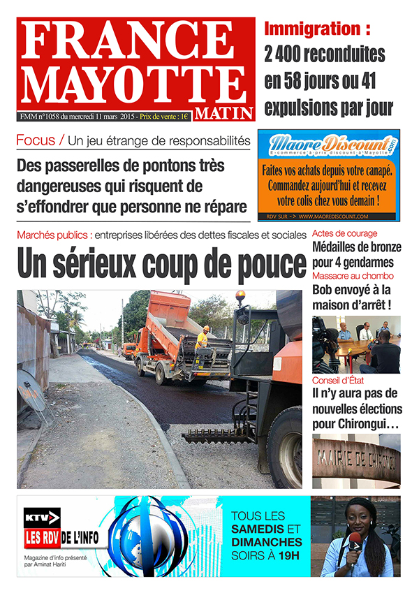 France Mayotte Mercredi 11 mars 2015