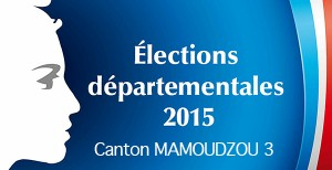 20h30 : Niya Moja en tête dans le Canton de Mamoudzou 3