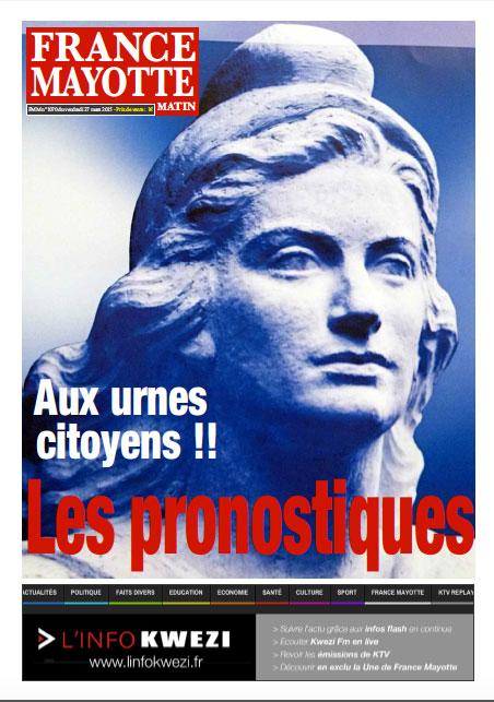 France Mayotte Vendredi 27 mars 2015