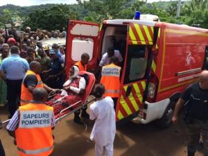 Combani : Les blessés évacués (vidéo)