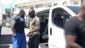 Arrivée de Maitre Gims à Mayotte