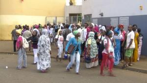 Manifestation d'élèves ce matin au collège de Tsingoni (vidéo)