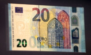 Le nouveau billet de 20 euros en circulation le 25 Novembre