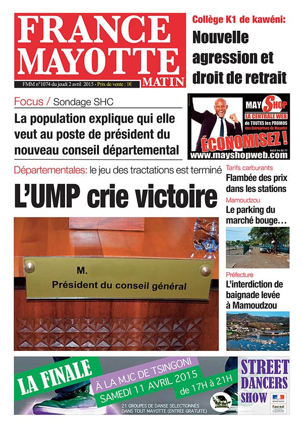 France Mayotte Jeudi 2 avril 2015