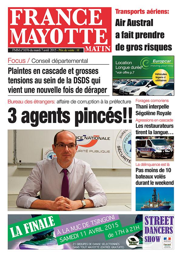 France Mayotte Mardi 7 avril 2015