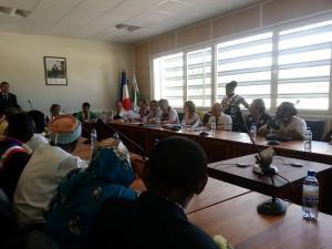 Chirongui accueille la Ministre des Outre-Mer