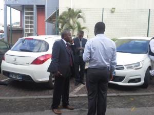 Arrivée des élus (3 photos)