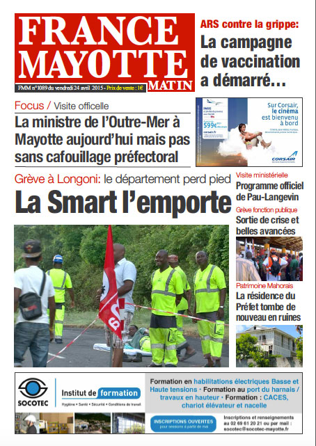 France Mayotte Vendredi 24 avril 2015
