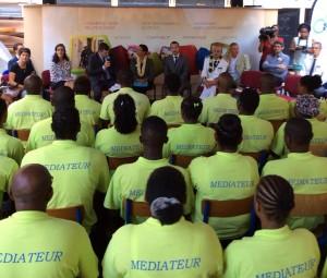 La Ministre a rencontré les médiateurs de demain (9 photos)