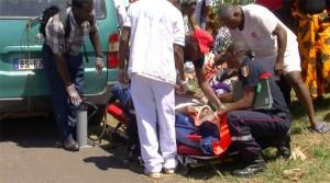 Accident suite (2) : elle se fait dévaliser pendant son sauvetage