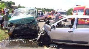Accident sur la rocade de M'Tsapéré, 13 blessés évacués