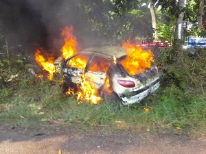 Accident grave à Hajangua