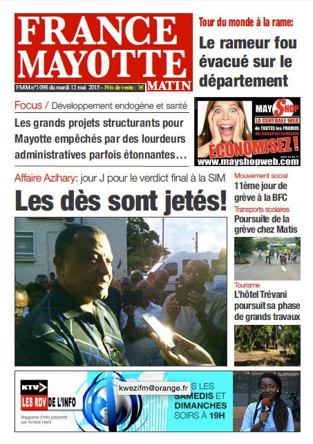 France Mayotte Mardi 12 mai 2015