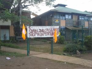 Mairie de Chiconi toujours bloquée