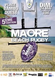 5ème édition du Maore Beach Rugby