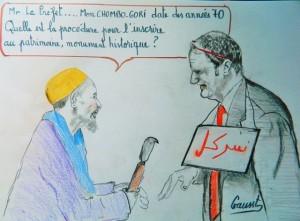 Humour : Seymour Morsy croqué sur Facebook