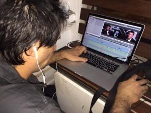 INÉDIT : Le montage de l'interview de Manuel Valls en direct de la barge