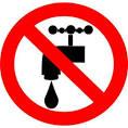 Les coupures d'eau interdites