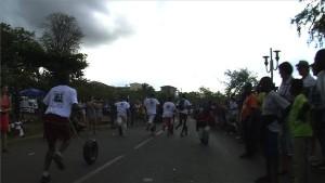Près de 900 participants à la course de pneus samedi