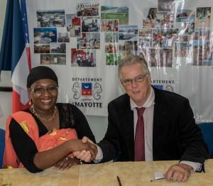 Signature d'une convention de partenariat entre le CD et le CBNM