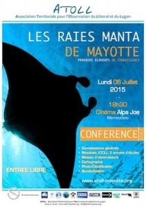 Conférence Raies Manta