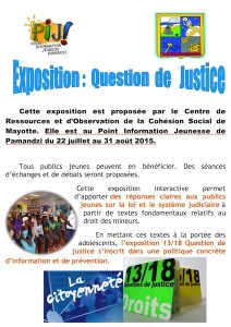 expo question de justice