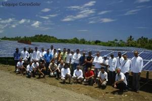 Une nouvelle ferme solaire à Dzoumogné