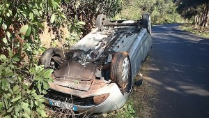 Terrible accident à M'tsangamouji