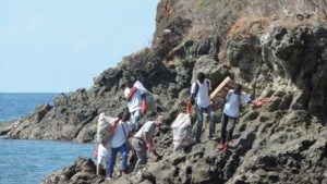 6m3 de déchets ramassés cette année sur l'îlot M'Bouzi