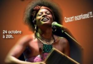 Christine Salem en concert à Dembéni