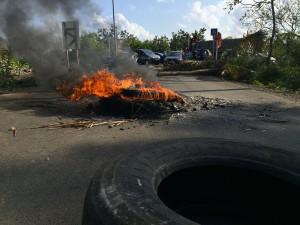 Blocage à la prison de Majicavo (1 vidéo et 4 photos)