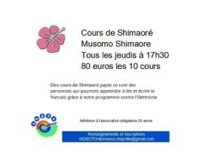 Apprendre le Shimaroé