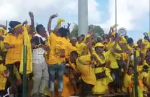 Revivez la Finale : Egalisation de Kani Kéli, la joie chez les jaunes ! (vidéo)