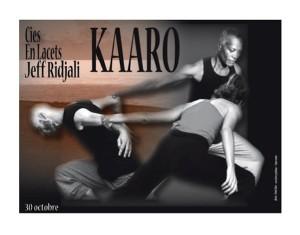 Danse contemporaine le 30 octobre à Dembéni : KAARO