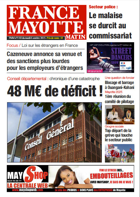 France Mayotte Mardi 6 octobre 2015