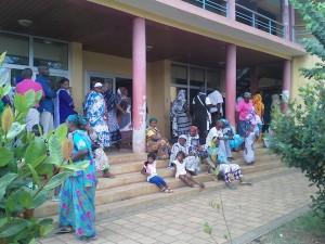 Dembéni : forte affluence dans les bureaux de vote