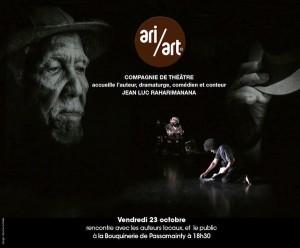 Rencontre avec le dramaturge et conteur M. Jean-Luc RAHARIMANANA