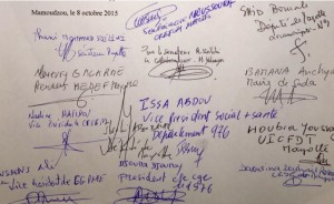 Signature à l'unanimité de l'Appel de Mayotte pour l'égalité réelle