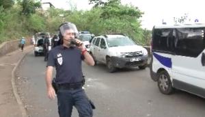 Vidéos de l'intervention des forces de police au Baobab