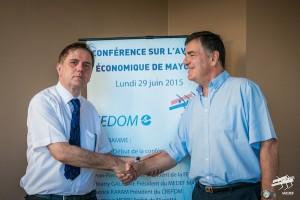 Nouveau Bureau de la FEDOM – Thierry GALARME devient vice-président