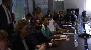 Visite ministérielle : entre déception et colère (vidéos)