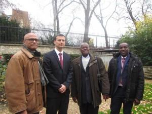 Le président Soibahadine IBRAHIM RAMADANI en mission à Paris